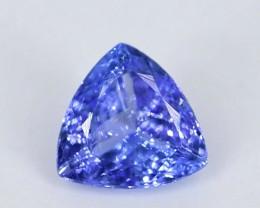 1.10 Crt Beautiful Trillion Cut Tanzanite Gemstone