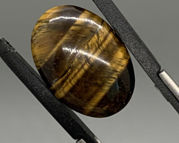 17.21 Ct Tiger's Eye Cabochon