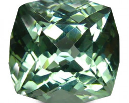 Tourmaline 2.41 Cts  Green Portuguese Cut BGC1109 | From Congo