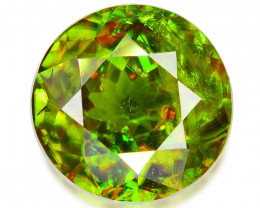 2.52 CT SPHENE WITH DRAMATIC FIRE GEMSTONE SH2