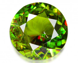 2.43 CT SPHENE WITH DRAMATIC FIRE GEMSTONE SH3