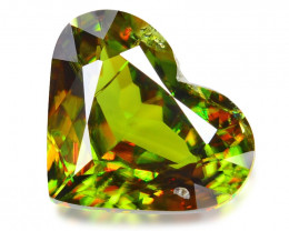 3.01 CT SPHENE WITH DRAMATIC FIRE GEMSTONE SH4