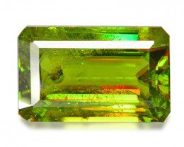 2.48 CT SPHENE WITH DRAMATIC FIRE GEMSTONE SH5