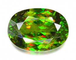 3.00 CT SPHENE WITH DRAMATIC FIRE GEMSTONE SH6