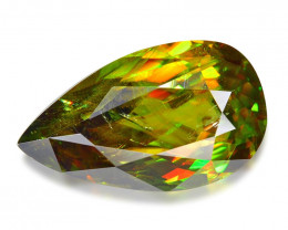 2.94 CT SPHENE WITH DRAMATIC FIRE GEMSTONE SH8