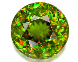 1.69 CT SPHENE WITH DRAMATIC FIRE GEMSTONE SH9