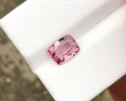 HGTL CERTIFIED 1.48 Ct Natural Pinkish Transparent Spinal Gemstone