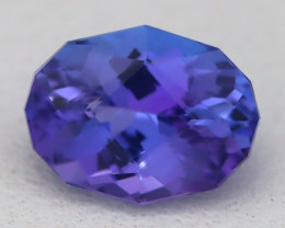 1.40Ct VVS Master Oval Cut Natural Vivid Purplish Blue Tanzanite C2816