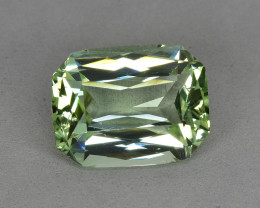 6.87 Cts Attractive Beautiful Natural Lime Green Tourmaline