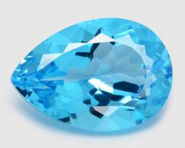 *NoReserve*Topaz 28.42 Cts Swiss Blue Natural Gemstones