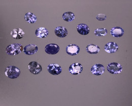 7.30cts Natural Blue Tanzanite Parcels