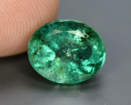 HGTL ~ Certified 2.32 Ct Top Quality Natural  Emerald