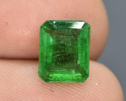 HGTL ~ Certified 2.66 Ct Top Quality Natural  Emerald