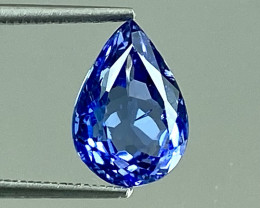 3.02Ct Tanzanite Excellent Cutting Top Luster Quality Gemstone. TN 122