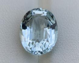 7.55 Cts top luster Natural Aquamarine Gemstone