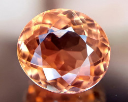 Tourmaline, 1.25ct,orange gem good for jewelry or collectors!