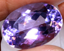 12.7 CTS AMETHYST FACETED STONE CG-3364
