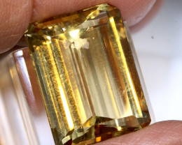 20.6 CTS   CITRINE  FACETED GEMSTONE CG-3370