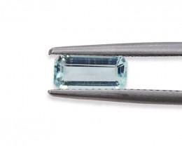 1.01 Cts Stunning Lustrous Natural Aquamarine