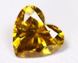 0.79Ct Orange Diamond Untreated Genuine Fancy Diamond BM452