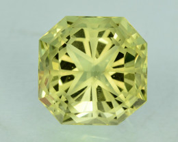 Amazing Flower Cut Splendid Colour 15.75 Ct Natural Citrine