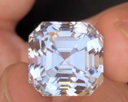 26.50 Carat One Of best Fancy Ashar Cut Kunzite Gemstone