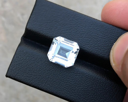 5 Ct Natural White Transparent Aquamarine Gemstone