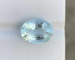 5.38 Cts Natural Aquamarine Gemstone
