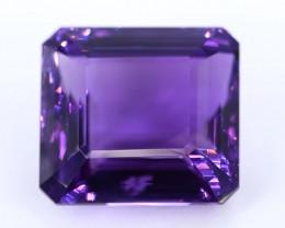 59.55 Crt Beautiful Square Cut Amethyst Gemstone