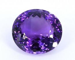44.10 Crt Beautiful Oval Cut Amethyst Gemstone