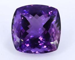 52.30 Crt Beautiful Square Cut Amethyst Gemstone