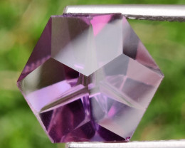 11.90 CTS  DAZZLING FANCY CUT PURPLE AMETHYST WONDERFUL~GEM!!