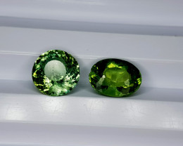3.55Crt Natural Green Apatite Natural Gemstones JI26