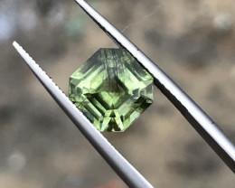 Natural Rutile Peridot Gemstone.