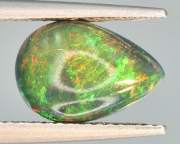 Top Welo Fire Black Opal 1.68 CTS Cabochon