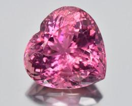 28.57 Cts Beautiful Heart Shape Natural Pink Tourmaline