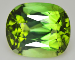 Tourmarine 2.84 Cts  Green Step cut BGC1374 | From Africa