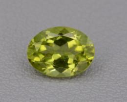 Natural Peridot 1.23 cts, Top Quality Gemstone