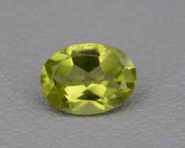 Natural Peridot 1.24 Cts, Top Quality Gemstone