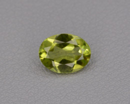 Natural Peridot 1.25 cts, Top Quality Gemstone