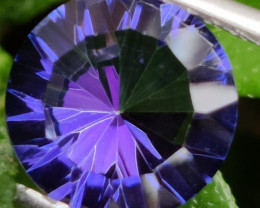 3.90 CTS SUPERIOR! TOP ROUND CUT PURPLE COLOR-TOPAZ GENUINE NR!!