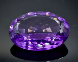 19.44 Crt Natural Amethyst Faceted Gemstone.( AB 19)