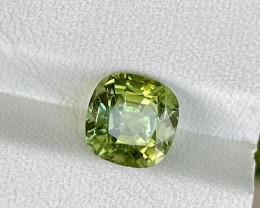 3.505 CTS Green Tourmaline Gem