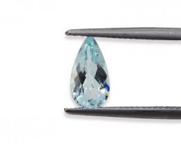 1.32 Cts Stunning Lustrous Natural Aquamarine