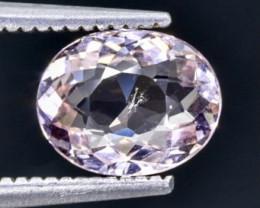 1.07 Crt Morganite Faceted Gemstone (Rk-96)