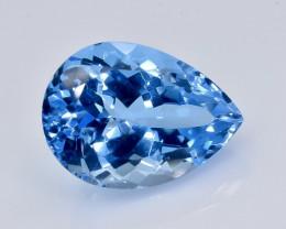 10.0 Crt Topaz Faceted Gemstone (Rk-96)