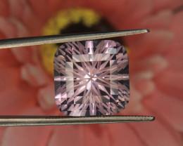 Slightly Color Shift Master Cut Amethyst Gemstone Cut by Master Cutter