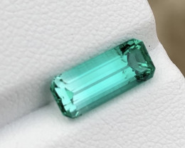 2.19ct emerald cut emerald GIA certified