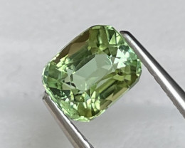 1.70 Cts Afghanistan Bright Mint Green Natural Top Grade Tourmaline