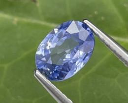 1.17 Cts Srilanka Cornflower Blue Fine Quality Natural Sapphire
